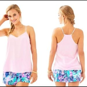 NWT Lilly Pulitzer Dusk Paradise Pink Tank-Small